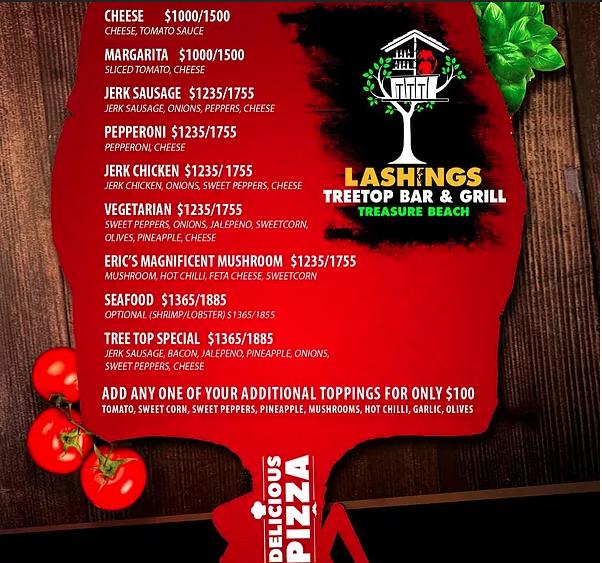 Tree Top Bar & Grill at Lashings