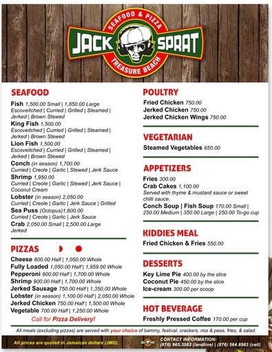 Jack Sprat Seafood & Pizza